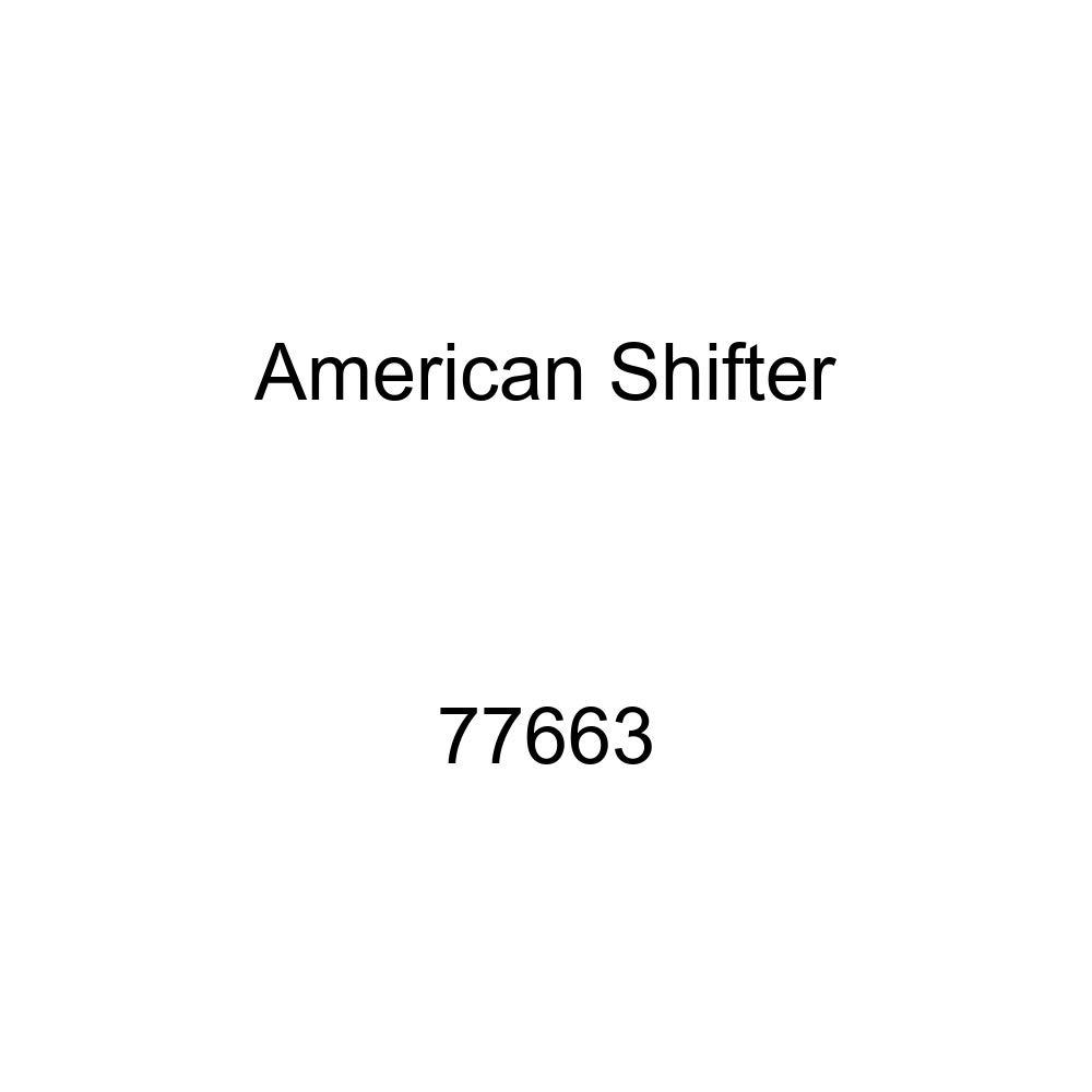 White Shift Pattern 23n American Shifter 77663 Black Metal Flake Shift Knob with M16 x 1.5 Insert