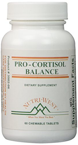 (Pro-Cortisol Balance - 60 Chewable Tablets by Nutri West)