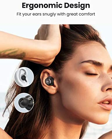 UGREEN HiTune Bluetooth Earbuds, Wireless Earbuds with Microphone, aptX HiFi Stereo in-Ear Headphones, CVC 8.0 Noise Cancelling Clear Calls, Ultra-Long Playtime, Touch Control, USB-C, Waterproof TWS