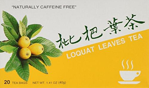 - Loquat Leaves Tea, 20 Teabag Box