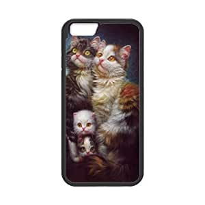 Iphone 6 CAT Phone Back Case Custom Art Print Design Hard Shell Protection TY022170
