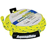 Product review for Aquaglide 4 Person Deluxe Tow Rope, Yellow