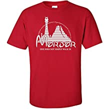 Mordor -Lord Of The Rings Graphic Clothing - T-Shirt - Red - X-Large