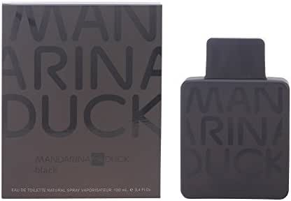 Mandarina Duck Black Eau De Toilette Spray for Men, 3.4 Ounce