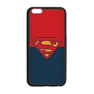 the Case Shop- Super Man Superman Super Hero TPU Rubber Hard Back Case Silicone Cover Skin for iPhone 6 Plus 5.5 Inch , i6pxq-669