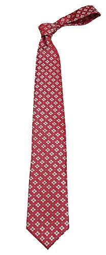 B-11702 - Boys Youth Red Pattern Designer Necktie Ties
