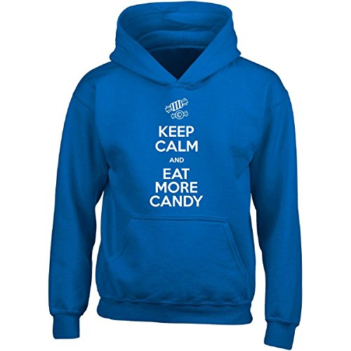 Pop Rocks Candy Costume (Halloween Keep Calm And Eat More Candy Fun Cute Easy Costume - Adult Hoodie)