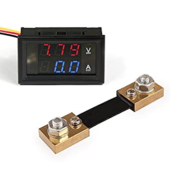Measurement & Analysis Instruments Red Led Amp Dual Digital Volt Meter Gauge Fast Color Trend Mark Dc 100v 10a Voltmeter Ammeter Blue Voltage Meters