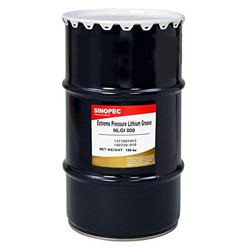 sinopec-ep000-semi-fluid-lithium-grease-nlgi-000-120-lb