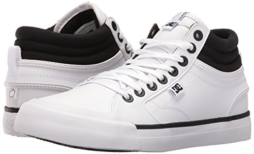 White Evan Hallo Skate EUR DC Frauen Schuhe 39 Black pqUHw8ax