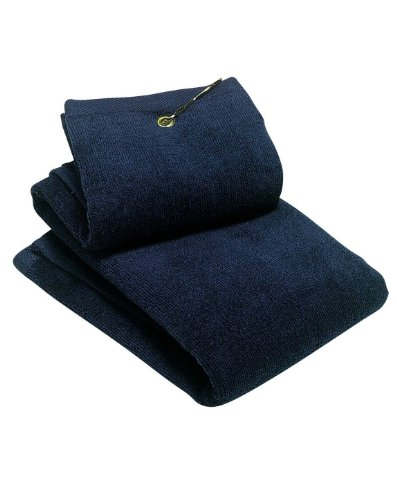 Port Authority Grommeted Tri-Fold Golf Towel TW50 - Navy TW50 OSFA