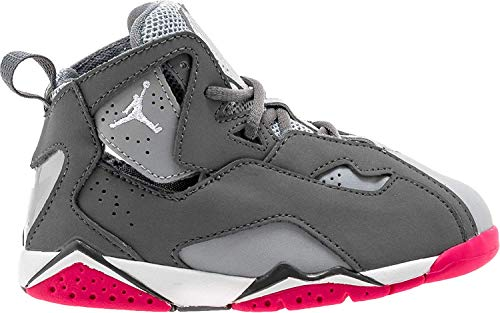 timeless design 01eca 0e616 Jordan Nike True Flight GT baby-girls fashion-sneakers 645071 (9 M US  Toddler, Grey Grey Pink Pink) - Buy Online in Oman.   Shoes Products in  Oman - See ...