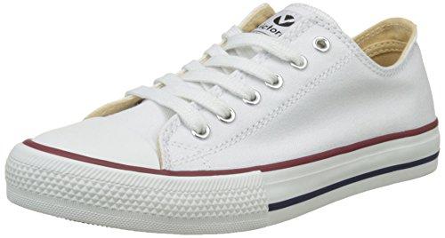 Blanc Panier Unisexe Blanc Autoclave Zapato Salut blanc Adultes haut Victoria Formateurs 8qp6xgpw