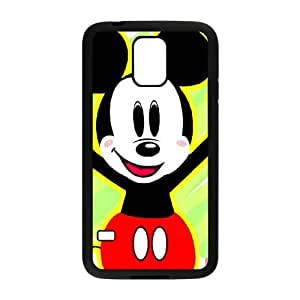Micky-Mouse Samsung Galaxy S5 Cell Phone Case Black Q6972771