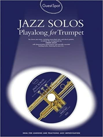 Book Guest Spot Jazz Solos Playalong For Trumpet Tpt Book/Cd by Various (13-Sep-2004)