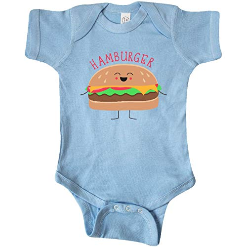 inktastic - Hamburger Costume Infant Creeper 6 Months Baby Blue 31d0b ()