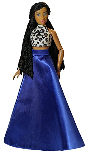 Fresh Dolls Indigo Doll, Brown/Multicolor ()