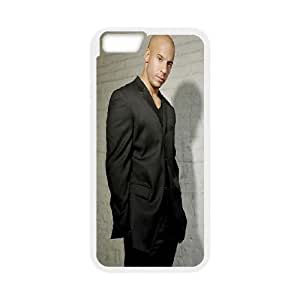 iPhone 6 Plus 5.5 Inch Cell Phone Case White Vin Diesel In Fancy Suit JNR2996202
