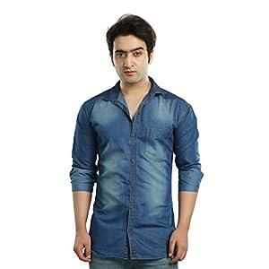 mens regular fit casual shirt
