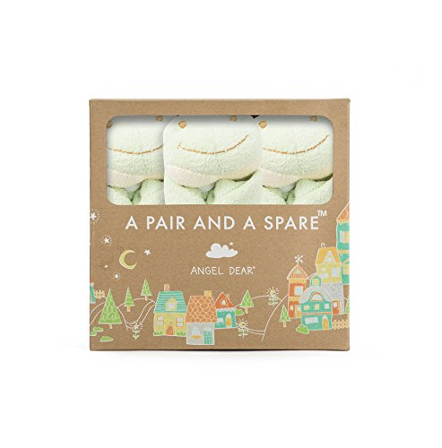Angel Dear Pair and a Spare 3 Piece Blanket Set, Frog by Angel Dear