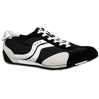 Saucony Men's Blaze Textile Casual Shoe Black, Gray, White (10.5)