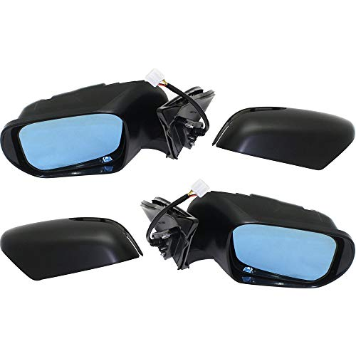 - Power Mirror compatible with Suzuki Grand Vitara 09-13 Right and Left Side Manual Folding Heated W/Signal Light W/Blue Glass 4WD Paintable