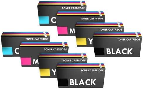 Prestige Cartridge 8 x Compatibles Cartuchos de Tóner Láser para ...