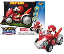 SONIC THE HEDGEHOG KNUCKLES BATTERY OPERATED VEHICLE ()