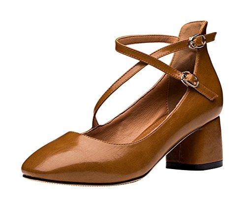 tmates-womems-retro-classic-cross-strap-dress-ankle-strap-buckle-block-heel-pump-55-bmuscamel