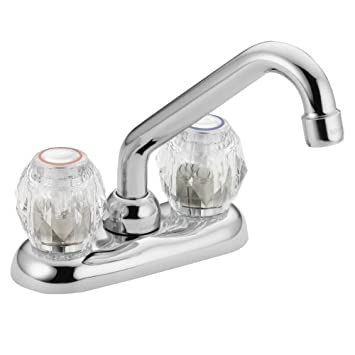 Lovely Moen Chateau Two Handle Low Arc Laundry Faucet Chrome