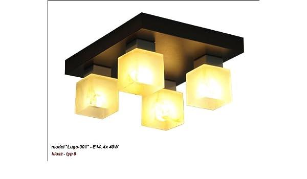 WeRo lámpara - Lámpara de techo (Diseño de Lugo de 001: Amazon.es: Iluminación