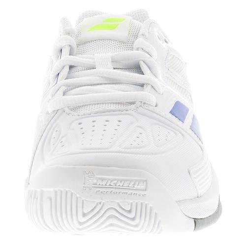 BABOLAT Propulse Team All Court Chaussures Enfant, Blanc, 40