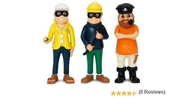 Pippi Langstrumpf 44.3693.00 - Pippi capitán y los dos ladrones ...