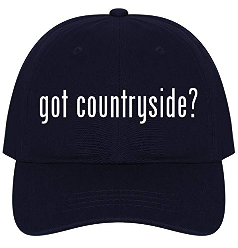 The Town Butler got Countryside? - A Nice Comfortable Adjustable Dad Hat Cap, Navy
