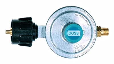 Goss EP-90-3 Low Pressure Propane Regulator, Type 1 Inlet with LH Hose Outlet