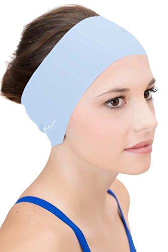 Sync Hair Guard & Ear Guard Headband - Wear Under Swimming Caps Clear Water