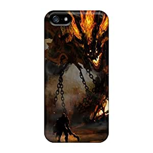 High-quality Durable Protection Case For Iphone 5/5s(fighting Monster)
