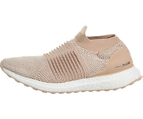 c3c18457ae Galleon - Adidas Ultraboost Laceless W Ladies In Ash Pearl