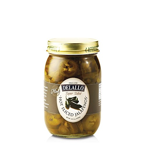(DeLallo Hot Sliced Jalapeno Peppers, 16 Ounce (Pack of 12))