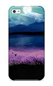 Best 7047696K39466111 Premium Protection Nature Case Cover For Iphone 5c- Retail Packaging