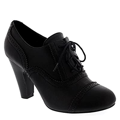 Viva Womens Evening Mid Heel Ankle Boots Party Mary Jane Shoes Block Heels