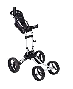 Bag Boy Quad Push Cart (White)