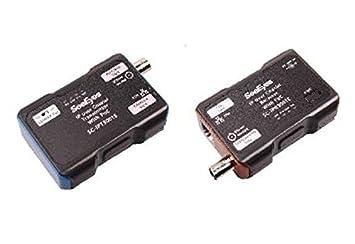 SeeEyes SC de ipc3001e, conversor de medios, 1 canal, Ethernet por cable coaxial