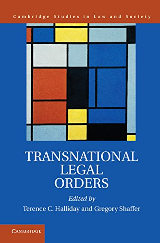 Download Transnational Legal Orders (Cambridge Studies in Law and Society) Pdf