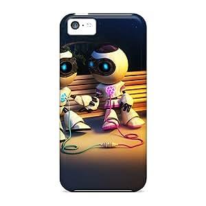 Iphone 5c Case Bumper Tpu Skin Cover For Robotic Love Accessories