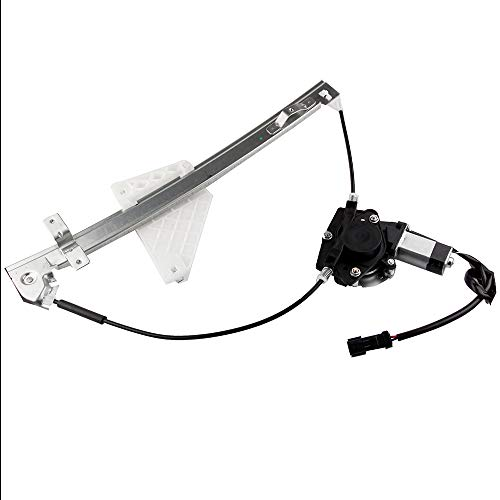 OCPTY Rear Right Passengers Side Power Window Regulator with Motor Assembly Replacement for 1999-2000 Jeep Grand Cherokee 55076468AC 55076468AI