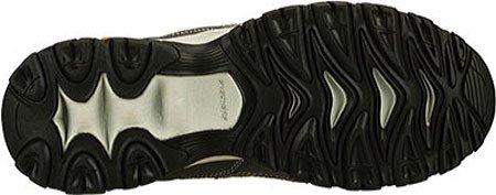 Skechers Sport Heren Nabrand Memory-foam Lace-up Sneaker Houtskool / Grijs