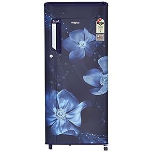 Whirlpool 200 L 3 Star Direct Cool Single Door Refrigerator(215 IMPWCool PRM 3S, Sapphire Magnolia)