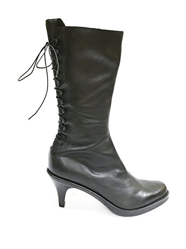 Heel Boots Fornarina With PIFVA3175WC Laces Stiletto Black Vintage 40 x44XSqIO