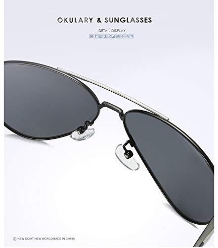 Soleil Personnalité pour Ruiyue UV400 Protection Lunettes Polarized Lunettes Femmes Miroirs Hommes 4 De Rétro De Soleil Mode rz8rO